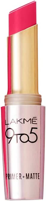 Lakme 9 to 5 Primer with Matte Lip Color, MP17 Rosy Mind, 3.6g