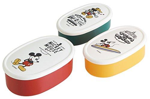 Seal SRS3S Lot de 3 boîtes Alimentaires Mickey Mouse Debout