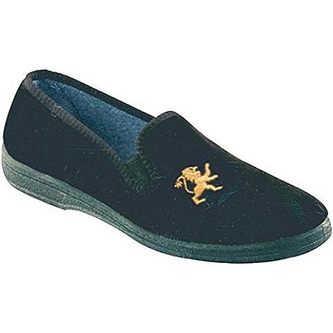 Mirak Warminster/Frank-Pantofola, Slip-On, colore: Marrone - Leone Pantofole
