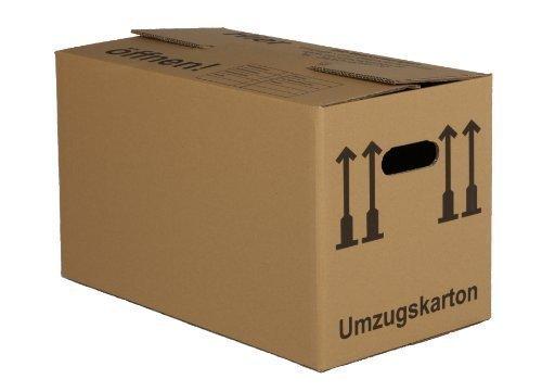 10 neue XXL-Umzugskartons (Spedition) 2-wellig/Volumen: 84l / Aussenmasse: 660 x 360 x 380 mm