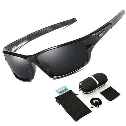 WBAHJMänner Polarisierte Angeln Sonnenbrille Fischer Camping Wandern Skibrille Fahrrad Radfahren Brille Sport Angler Angeln Brillen