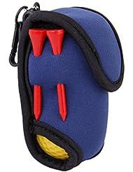 Gazechimp Mini Sac Elastique en Néoprène SBR avec 2 Balles de Golf 4 Tees