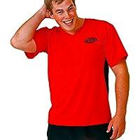 OBO Tight Fit Poly para porteros de hockey (Smock, rojo