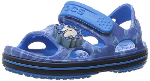 Crocs Kinder Unisex 204106 Flip-Flop-Sandalen, Blau (Cerulean Blue Navy), 20/21 EU