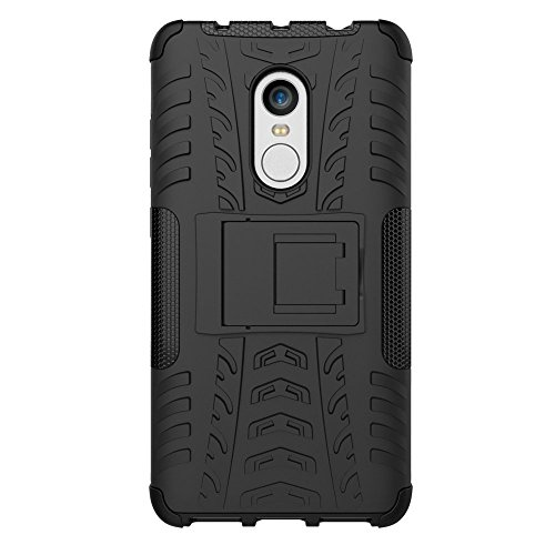 new arrivals 6d0a6 183b4 Redmi Note 4 Case, DMG Mesh Kickstand Armor Hard Back Cover Case for Xiaomi  Redmi Note 4 (Black)