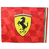 FERRARI F1 Team Flag Racing Shield 120 x 90cm 2019