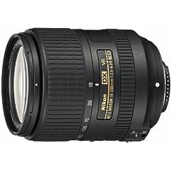 Objectif - Nikon AF-S DX NIKKOR 18-300mm f/3.5-6.3G ED VR - Zoom ultraportable 16,7x au format DX