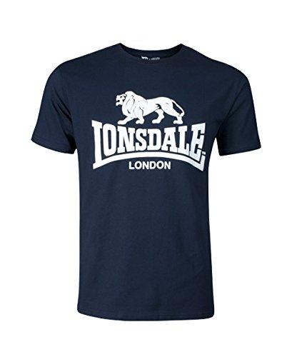 everlast tshirt Lonsdale Herren Sport Shorts T-Shirt Promo, marineblau, Large