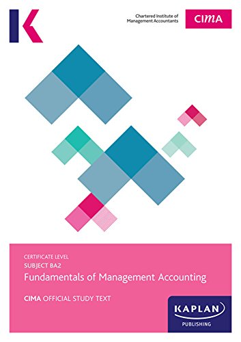 Cima complete text ba2 fundamentals of management accounting ebook cima complete text ba2 fundamentals of management accounting by content team kaplan publishings fandeluxe Images