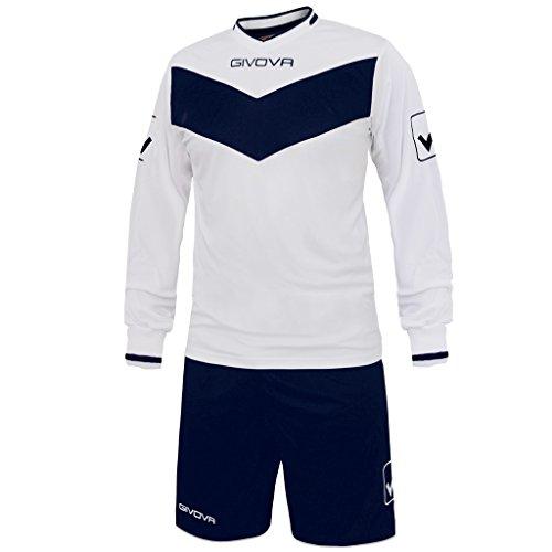 Givova Abbigliamento Sportivo Calcio Kit Olimpia Bianco-blu M