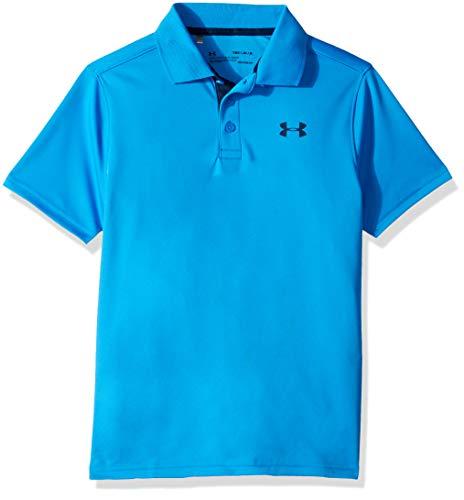 e2fa0d74 Under Armour Performance Polo Camiseta, Niños, Azul (Blue Circuit/Academy  436)