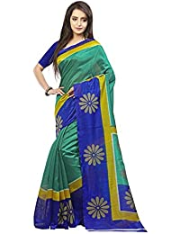 Yuvanika Women's Cotton Silk Saree (Syuvef000210_Multicolor)