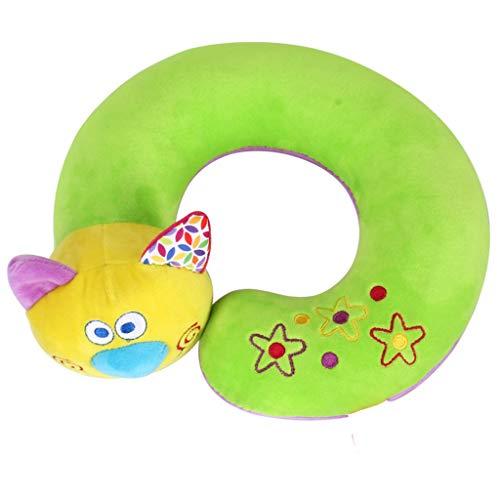 MA87 Plüsch Nackenkissen für Kinder und Kleinkinder Am besten für Reisen und Road Trips Spielzeug 23x20x5.5cm (A)