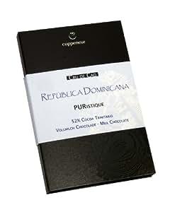 Coppeneur 52% Dominikanische Republik Vollmilch, 2er Pack (2 x 50 g) - Bio