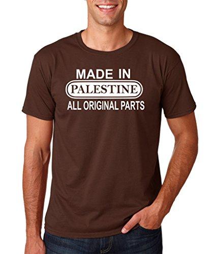 Daataadirect Herren T-Shirt Dark Chocolate