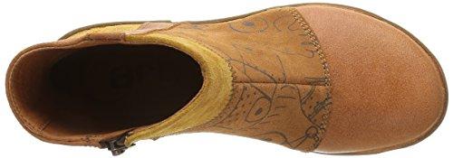 art - BERGEN, Stivali bassi con imbottitura leggera Donna Marron (Lux Printed Henna)