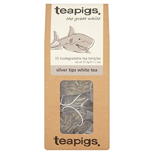 Teapigs Tipps Silber weißer Tee 15 Pro Packung (Tee Alley)