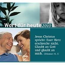 Wort für heute, Abreißkalender, Großdruck-Ausgabe 2010