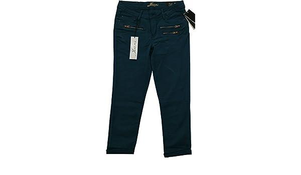 d96ec8e54d0117 Frauen Orsay Jeans 3/4 Knöchel Länge zugeschnitten Baumwolle Fashion Hose Gr.  UK 12/EU 40, grün: Amazon.de: Bekleidung