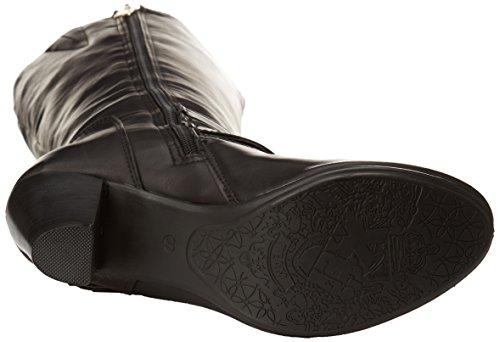 Xti 28550, Boots femme Noir (Combinado Negro)