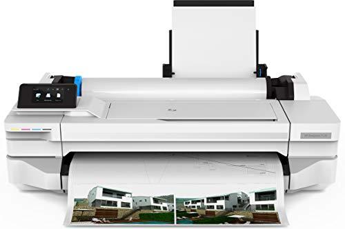HP Designjet T130 - Großformatdrucker (1200 x 1200 DPI, Thermal Inkjet, 1200 x 1200 DPI, Schwarz, Cyan, Magenta, Gelb, 70 pph, 0.3 mm)