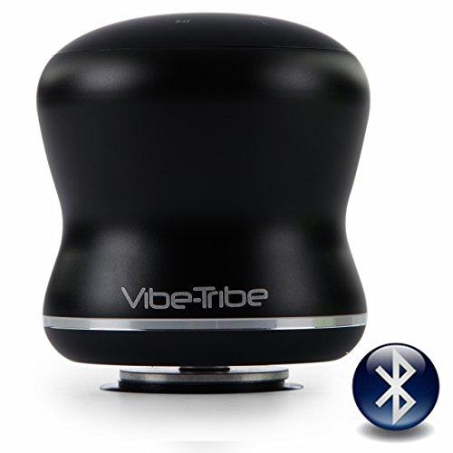Vibe-Tribe Mamba-Black: Altoparlante a Vibrazione Bluetooth 18W, Touch Panel, Vivavoce, Daisy Chain