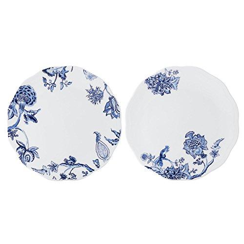 doubleblue-8-piatto-rotondo-fondina-set-da-2-bone-china-pastoral-per-cene-party-feste-e-banchetti-sc