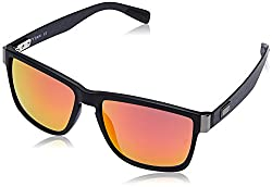 Titan UV Protected Square Mens Sunglasses - (G209CTML9A 55 Red Color)