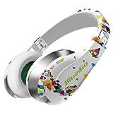 Bluedio A (Air) auriculares bluetooth con microfono cascos inalambricos sonido 3D ultra flexible (Blanco)
