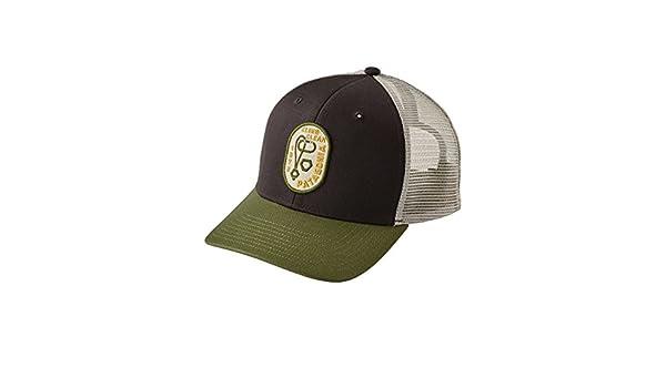 Patagonia Hats Climb Clean Rack Trucker Cap - Black-Sage Adjustable   Amazon.co.uk  Clothing f48988258aa