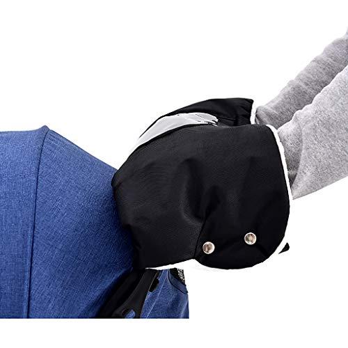 Makalon Winterhandschuhe,Kinderwagen Fleece Handmuffhandhandschuh Handwärmer Anti Frost Kinderwagen Zubehör, Mit weichem Fleecefutter und wasserfesten Tüchern außen