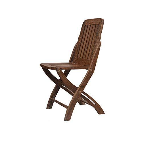 YZY-Klappstuhl Portabler Fischerhocker Esszimmerstuhl Aus Massivem Holz Rückenlehne Stuhl Freizeithocker Redwood Klassische Möbel