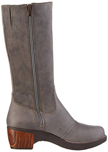 art - Zundert, Stivali alti con imbottitura leggera Donna Grigio (Grigio (grigio))