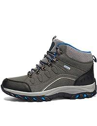 SHOES Zapatos De Senderismo Antideslizantes De Otoño E Invierno, Zapatos Al Aire Libre Masculinos Ligeros De Senderismo Zapatos De Senderismo, Zapatos De Senderismo De Alta Gama,Gris,41