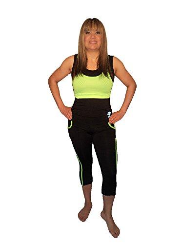 Women Sportswear, fitness, palestra, Pilates, Yoga & Ladies Sportswear, Ladies fitness, palestra, Pilates, Yoga Clothing Capri 2Piece Set £ 33.99X 4Weeks Only GREEN & DARK BLUE