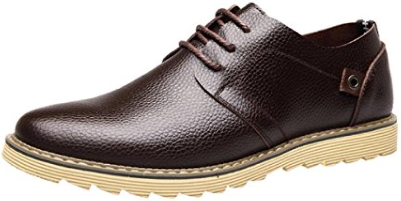 Männer Lässig Geschäft Leder Mode Schuhe  Billig und erschwinglich Im Verkauf