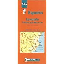 Levante, Valenzia, Murcia (Michelin Maps)