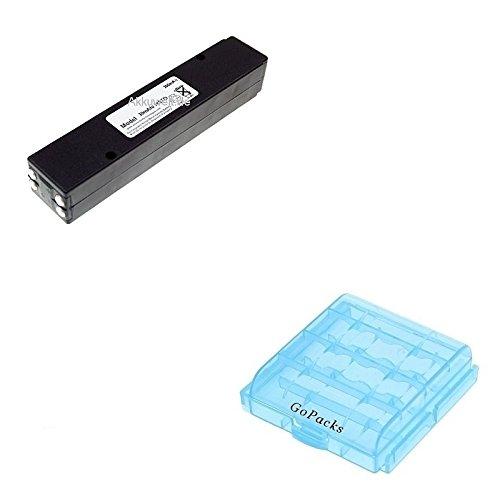 Gopacks Ersatz Akku für Funkgerät Bosch FuG10 HFG10 P/N 8967322072 B5860 8967322072 Akku-/Batteriebox (4xAAA/AA) Accu Battery Batterie Bateria Akkubatterie