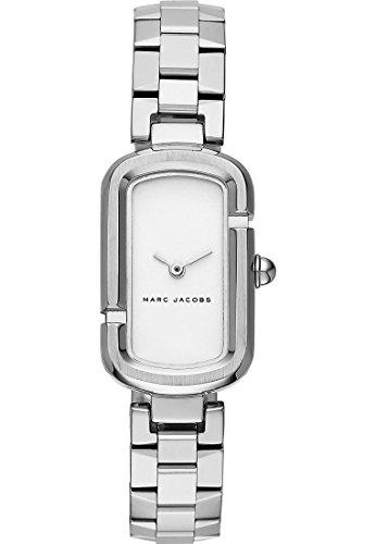 Marc Jacobs Damen-Armbanduhr Analog Quarz One Size, schwarz, Silber