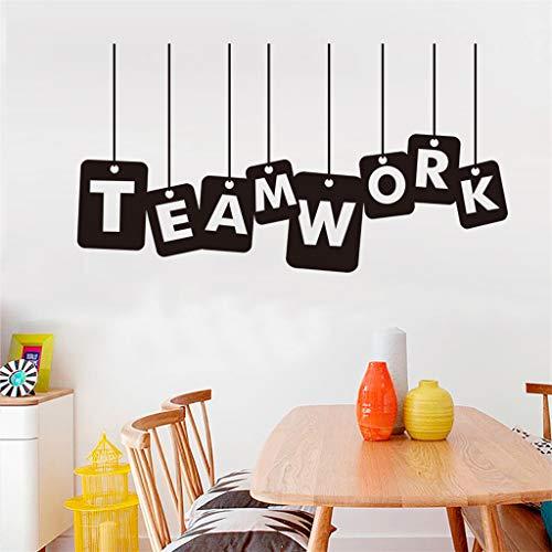 Wandaufkleber Yesmile Persönlichkeit kreative Englisch Schlafzimmer Studie Schlafzimmer Büro Wandaufkleber Dekoration