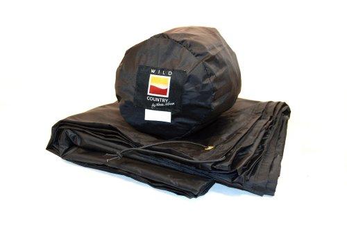Wild Country Unisex's Zephyros 1 Footprint Groundsheet Protector, Black, One Size