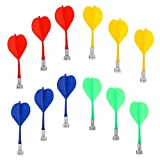 #7: 12 Pieces Magnetic Darts Safety Replacement Darts Indoor Game Target Accessories 4 Color Mix