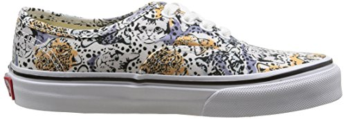 Vans K Authentic Wild Cat, Baskets Basses Mixte Enfant Multicolore (Wild Cat/True White)