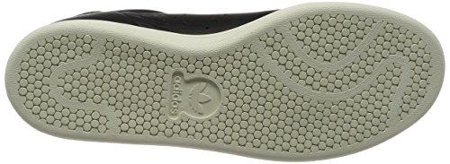 adidas Stan Smith, Sneaker a Collo Basso Uomo Schwarz (Negbas / Negbas / Ftwbla)