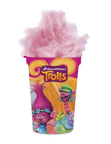 Preisvergleich Produktbild Zuckerwatte im Becher Trolls