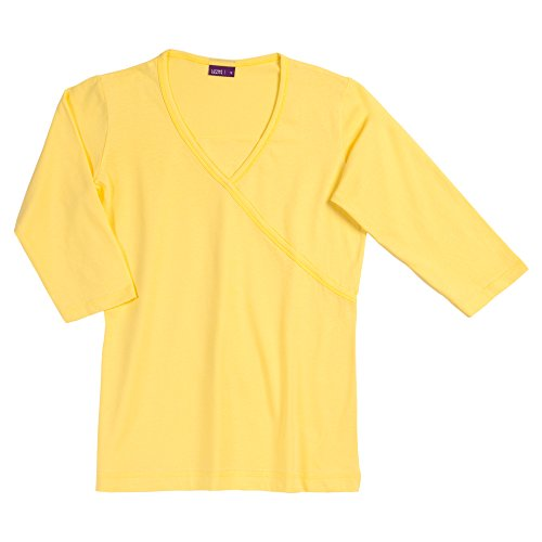 Living Crafts Shirt, 3/4-Arm Yellow