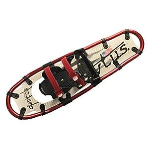 davtus Alu Schneeschuhe zum Bergwandern + Rucksack Snowshoes für Erwachsene (L) und Jugendliche/Damen (M)