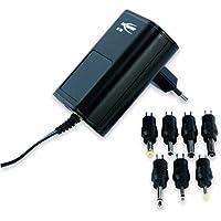 ANSMANN APS 1500 Universal Stecker Netzteil zur Stromversorgung vieler Elektrokleingeräte von 3-12 Volt/Weltweit einsetzbares Universal Netzteil mit 7 verschiedenen Adaptersteckern bis max. 1500mA