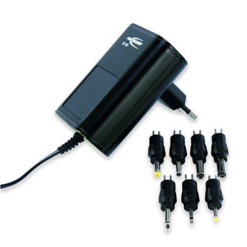 ANSMANN APS 1500 Universal Stecker Netzteil zur Stromversorgung vieler Elektrokleingeräte von 3-12 Volt / Weltweit einsetzbares Universal Netzteil mit 7 verschiedenen Adaptersteckern bis max. 1500mA (Netzteil-tools)