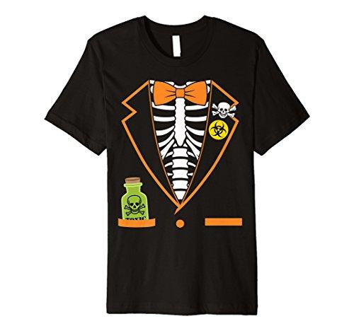 Skelett Tuxedo Spooky Funny Halloween -